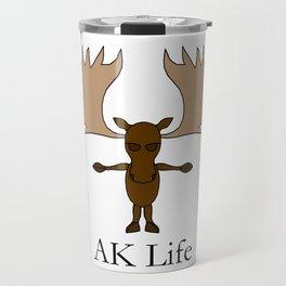 AK Life Moose Travel Mug