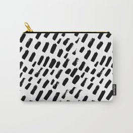 Dashing Darling - Black and White Carry-All Pouch