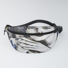 Every Girl and Her Thoughts Portrait Fanny Pack