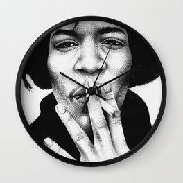 Jimi Hendrix Wall Clock