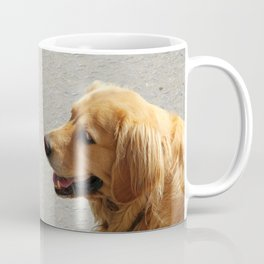Happy Golden Retriever Coffee Mug