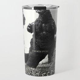 New Orleans Godzilla Attack 1908 Travel Mug