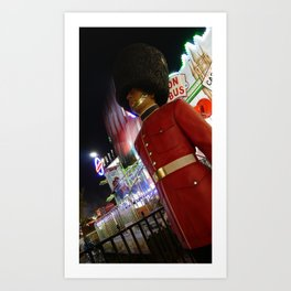 Toy Soldier At A Christmas Fair, Hyde Park, London, England Art Print