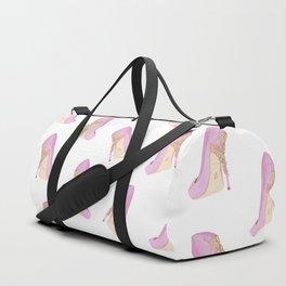 Pink Shoe Duffle Bag