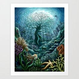 Undersea Witness Art Print