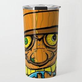 Cocktail Weenie and the Tiki Hut Travel Mug