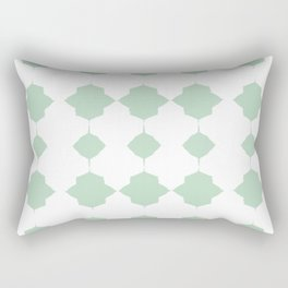 Minty_Geo_Love_ Rectangular Pillow
