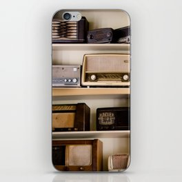 Vintage radio iPhone Skin