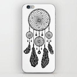 Dreamcatcher (Black & White) iPhone Skin