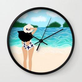 Beachy Wall Clock