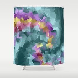 wild pattern -5- Shower Curtain