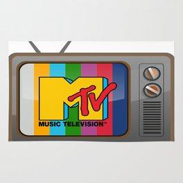 Retro TV Rug