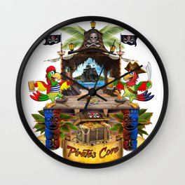 Pirates Cove Wall Clock