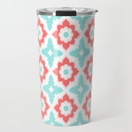 Moroccan Tile Travel Mug