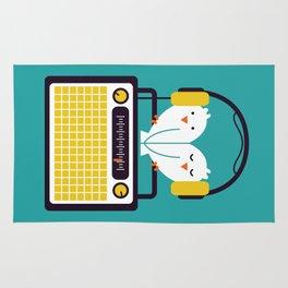 Radio Mode Love Rug