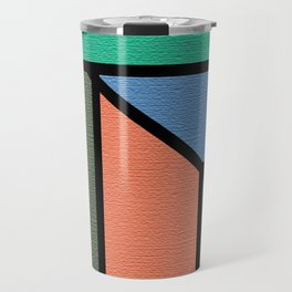 sunset beach cocktail bar Travel Mug