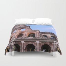 Colosseum at Night Duvet Cover