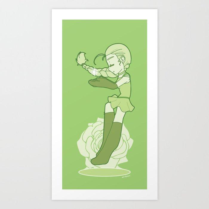 Mahou Shoujo 2 Art Print