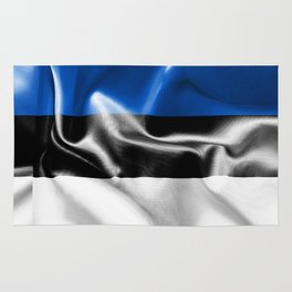 Estonia Flag Rug