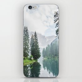 Forest Reflection in Italy iPhone Skin