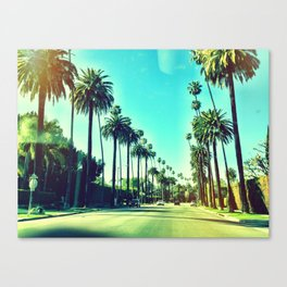 Beverly Hills California Canvas Print