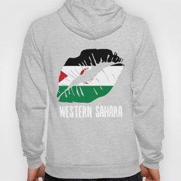 ESH Western Sahara Kiss Lips Tshirt Hoody