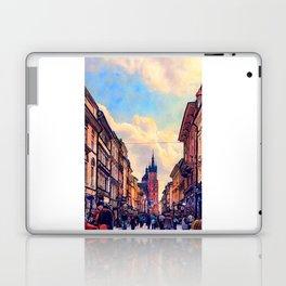 Cracow Florianska street Laptop & iPad Skin