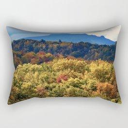 A Grand Blue Ridge View Rectangular Pillow