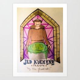 Jed Kuchyne (Poison Kitchen) Art Print