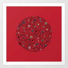 Ring Around the Roses Art Print