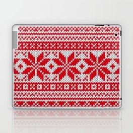 Winter knitted pattern 6 Laptop & iPad Skin