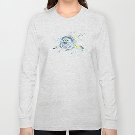 Harbour Seal Watercolor Painting - Emil Long Sleeve T-shirt