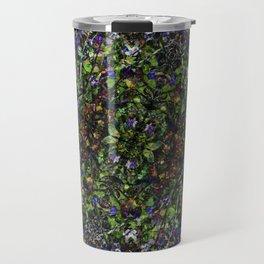 Bee in Flowers Travel Mug