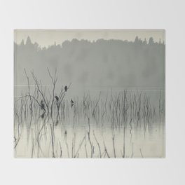 """""""Calm early morning"""" Throw Blanket"""
