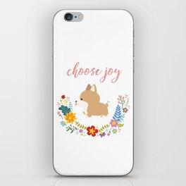 Choose joy iPhone Skin