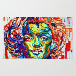 Under the Star:Marilyn Monroe Rug