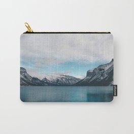 Lake Minnewanka, Canada #society6 #decor #buyart Carry-All Pouch