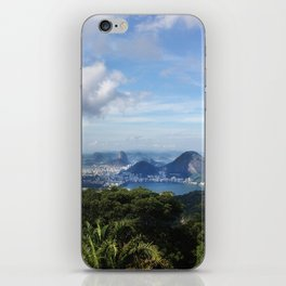 RIO DE JANEIRO THE CITY POSTCARD iPhone Skin