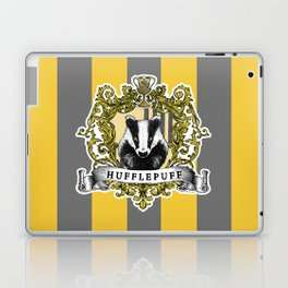Hufflepuff Color Laptop & iPad Skin