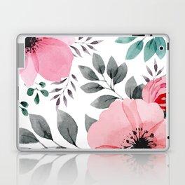 FLOWERS WATERCOLOR 14 Laptop & iPad Skin