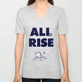 ALL RISE! Aaron Judge Yankees Unisex V-Neck