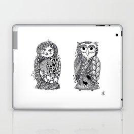 Babushka n Owl Laptop & iPad Skin