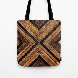 Urban Tribal Pattern 3 - Wood Tote Bag