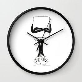 Petit sucre sans visage Wall Clock