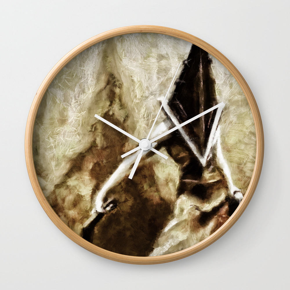 Silent Hill Pyramid Head Wall Clock by Joemisrasi CLK900100