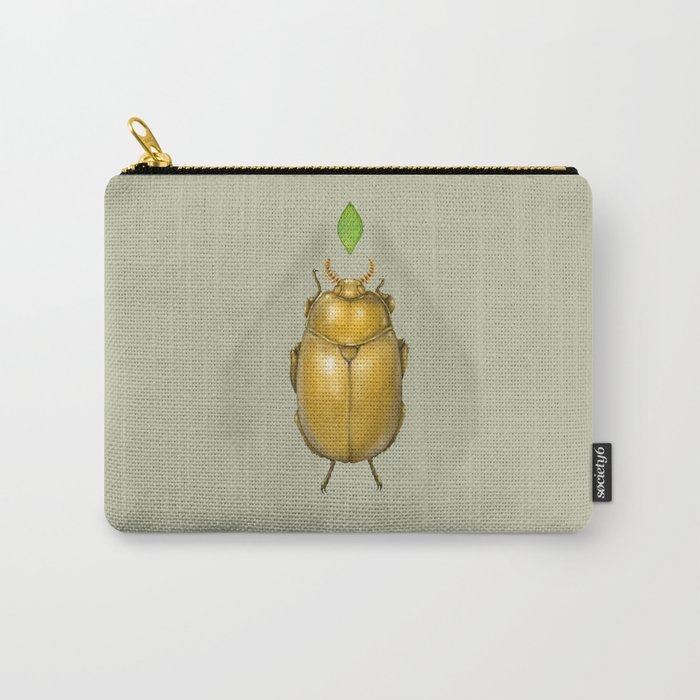 Gold bug Carry-All Pouch