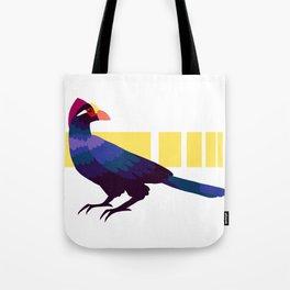 Violet turaco Tote Bag