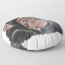 Chile the Chimp Floor Pillow