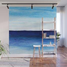Blue & blue Wall Mural