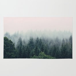 Between every two pines is a doorway to a new world Rug